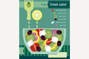 Recipe of greek salad