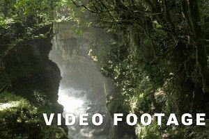 Deep Martvili canyon in Georgia