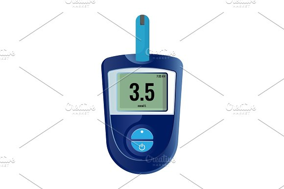 Modern Electronic Device That Shows Sugar Level In Blood