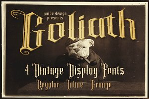 Goliath - Display Font