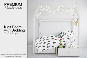 Kids Room and Bedding Set