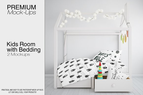Free Kids Room and Bedding Set