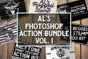 AL's Photoshop Action Bundle Vol. 1