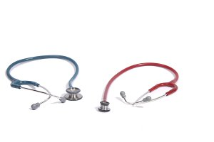 Small and big stethoscope