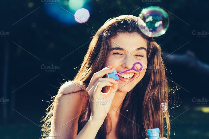 Fun with bubbles.jpg - People