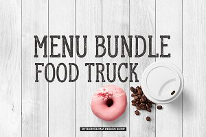 Food Truck Menu Bundle
