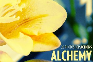 Alchemy - 20 photoshop actions