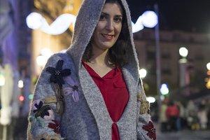 woman night style