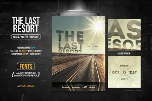 The Last Resort - Flyer