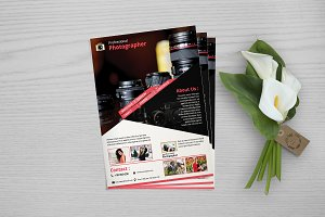 Photography Flyer Template V712