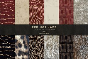 Red Hot Jazz Golden Graphics