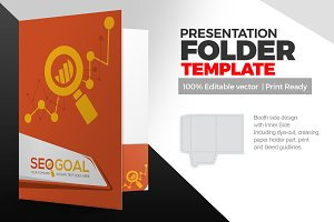 SEO Presentation Folder Template