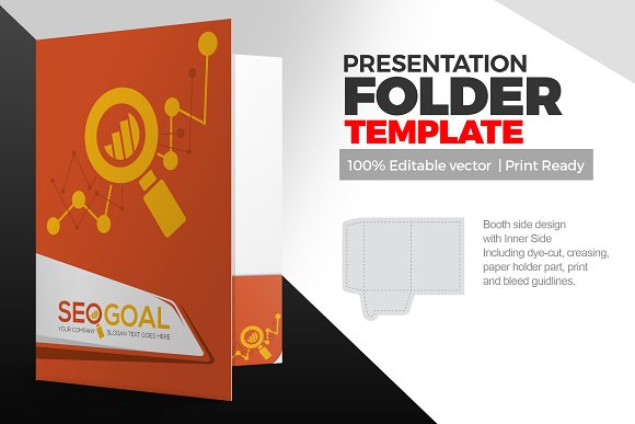 SEO Presentation Folder Template