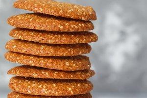 sesame healthy cookies