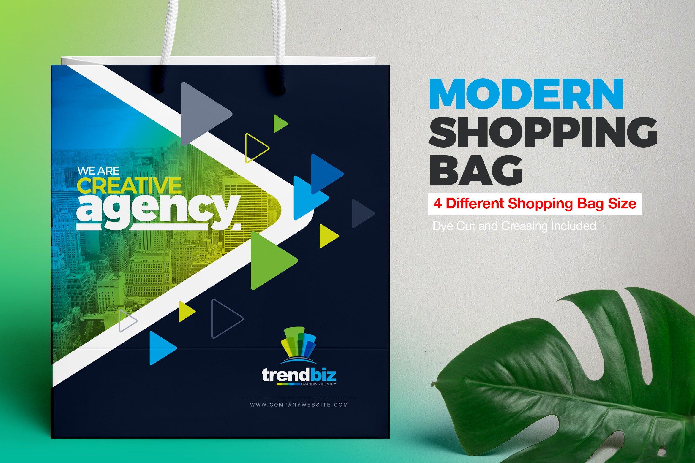 Shopping Bag ~ Stationery Templates ~ Creative Market