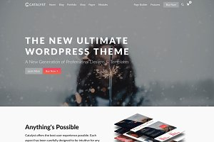 Catalyst - Premium WordPress Theme