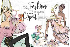 Lifestyle Fashion Clipart