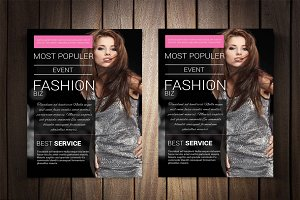 Fashion Biz Event Flyer