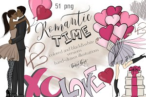 Romantic Time Clipart
