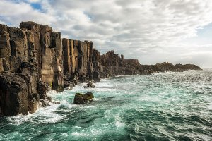 Bombo Headland Quarry at kiama, Australia
