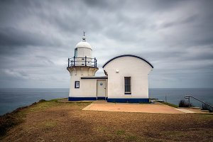 Tacking Point Lighthouse at Port Macquarie, NSW, Australia