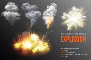 Explosions Set