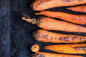 Baking carrot