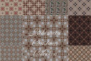 Bohemian Christmas Collection