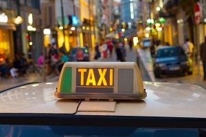 Taxi cab Porto, Portugal