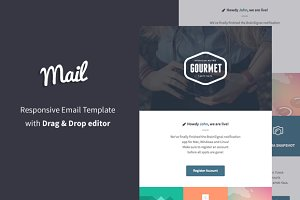 Email Templates - Mail + Email Builder