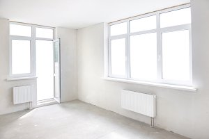 White room with window