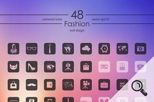 48 FASION icons
