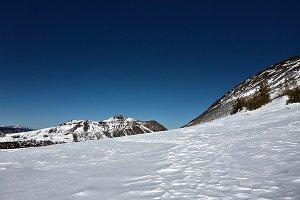 Bluebird Sky Over Red Lake Peak
