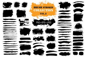 Brush Strokes Collection Vol.8