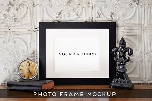 Realistic Photo Frame Art Mockup #1