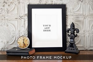 Realistic Photo Frame Art Mockup #2