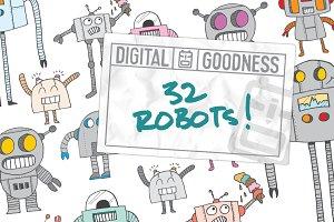32 Robots!