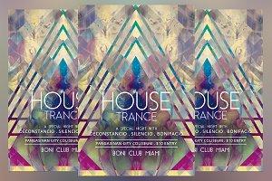 House Trance Flyer