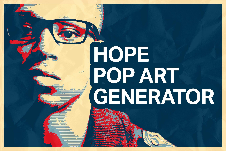 hope poster pop art generator actions creative market