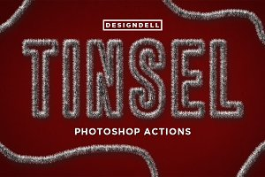 Tinsel Photoshop Effects