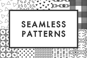 Glyph-Based Seamless Patterns (10++)