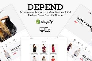 Depend - Responsive Shopify Theme