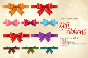 Gift Ribbons Set