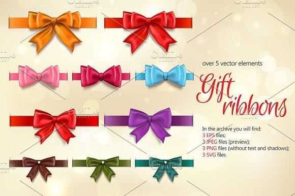 Gift Ribbons Set