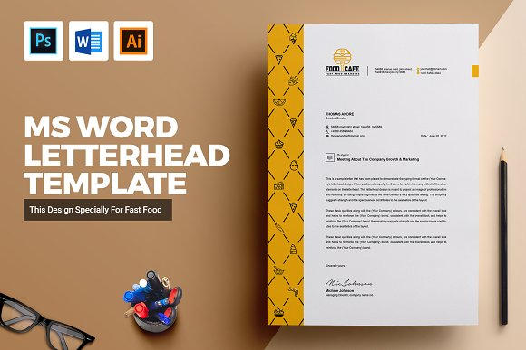 creative letterhead template word stationery templates creative