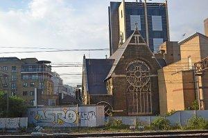 Church vs Graffiti