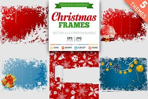 Christmas Frames for Cards