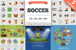 Soccer Themes and Icons