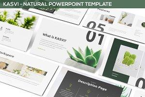 KASVI - Nature Powerpoint Template