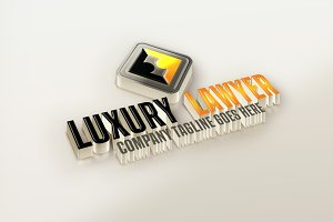 Luxury Lawyer Logo Design